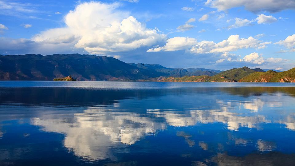各色山川湖泊秀丽风景壁纸