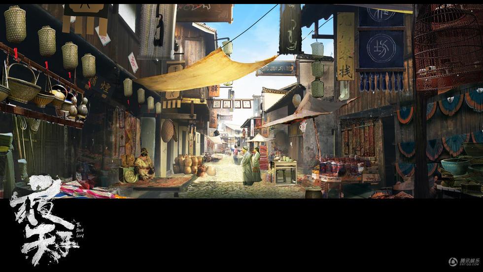 《夜天子》精致手绘场景曝光 尽显南疆地域风情