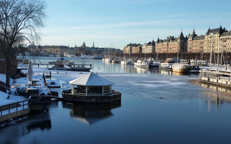 瑞典首都斯德哥尔摩高清风景壁纸