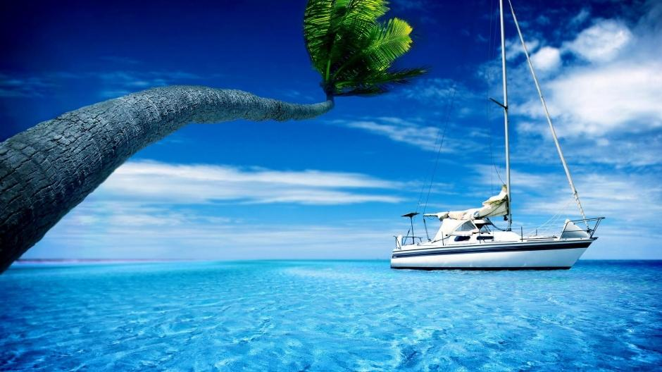 海边风景图片高清桌面