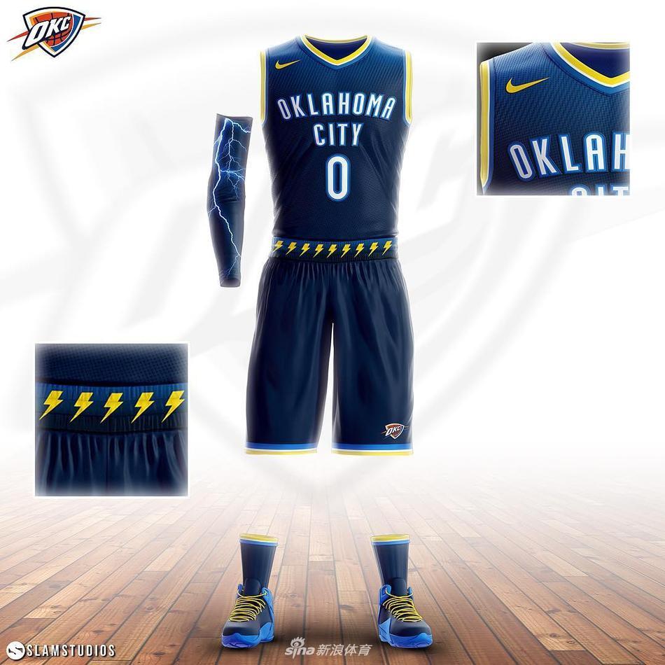 nba新赛季球星球衣设计概念图