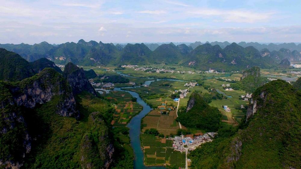 重庆喀斯特地貌优美风景高清壁纸 第二辑