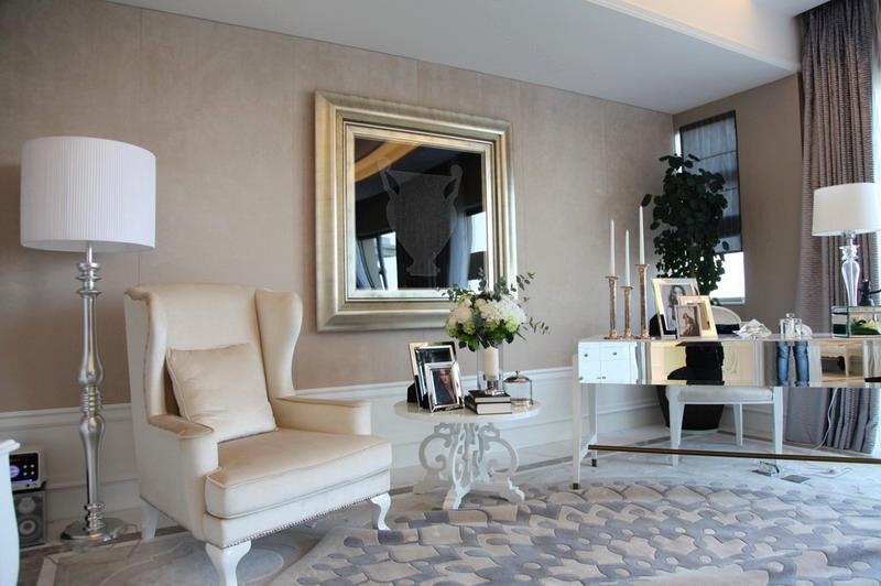 290平法式错层窗帘高挑a窗帘遮挡别墅吊顶高度图片