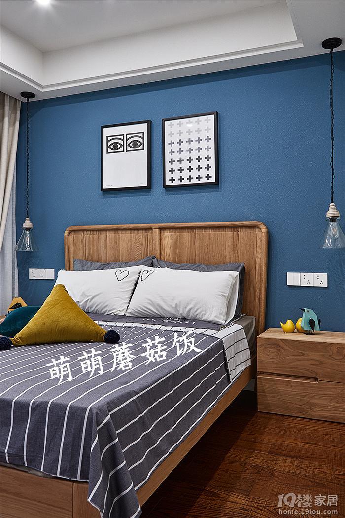 背景墙 床 房间 家居 家具 设计 卧室 卧室装修 现代 装修 700_1050