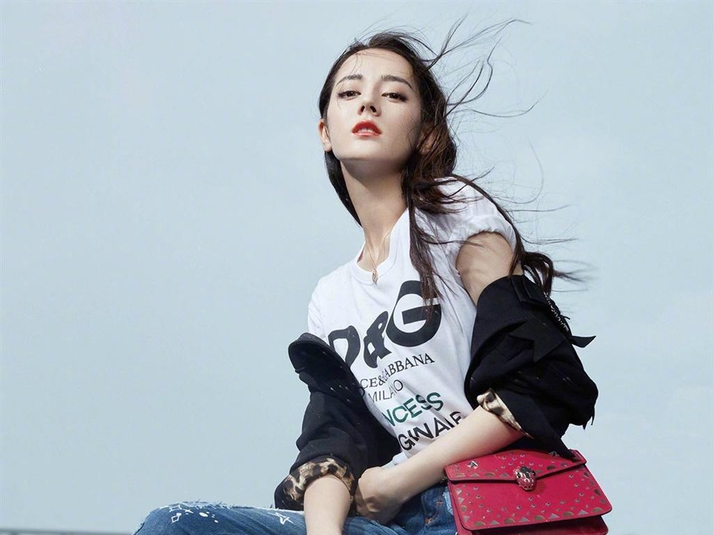 迪丽热巴最新杂志写真图片_图片新闻_东方头条