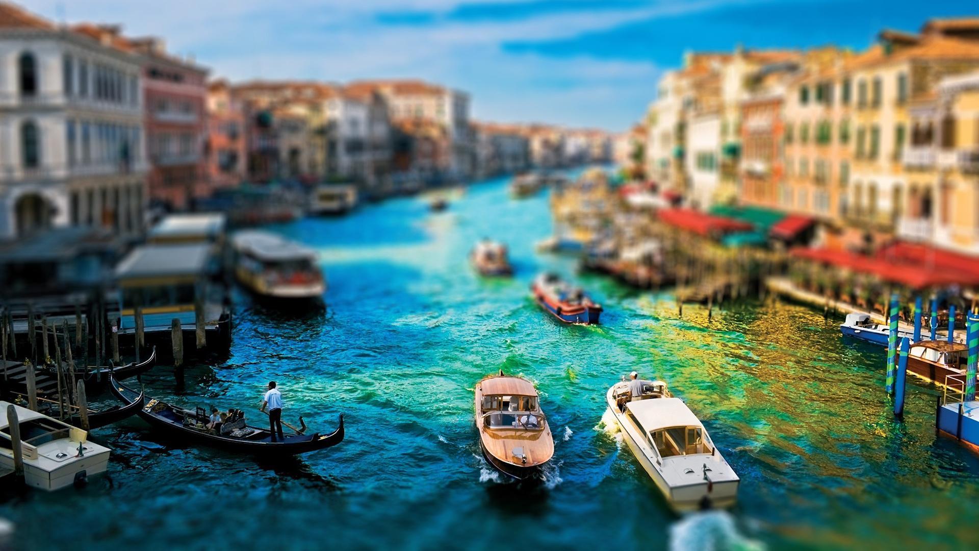 精选城市风景移轴摄影高清宽屏桌面壁纸