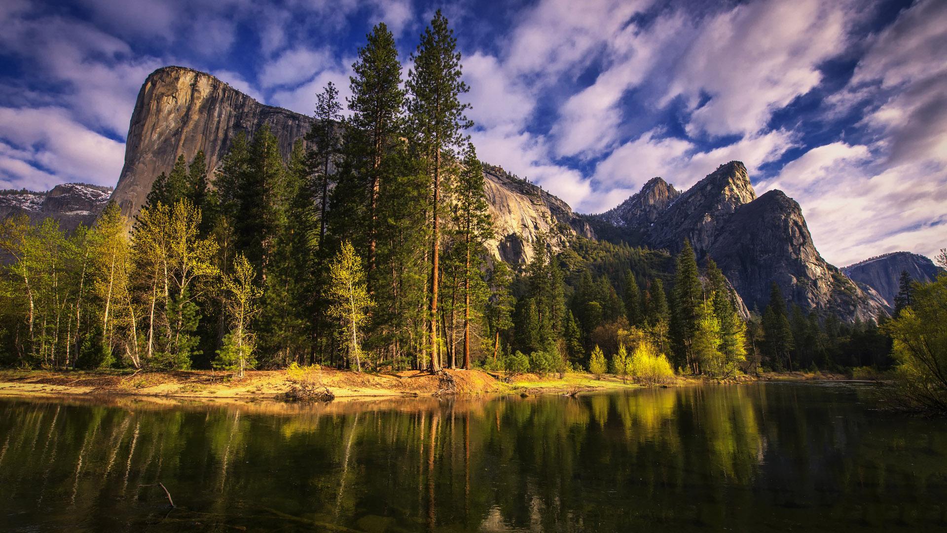 精选美国加州风景高清桌面壁纸