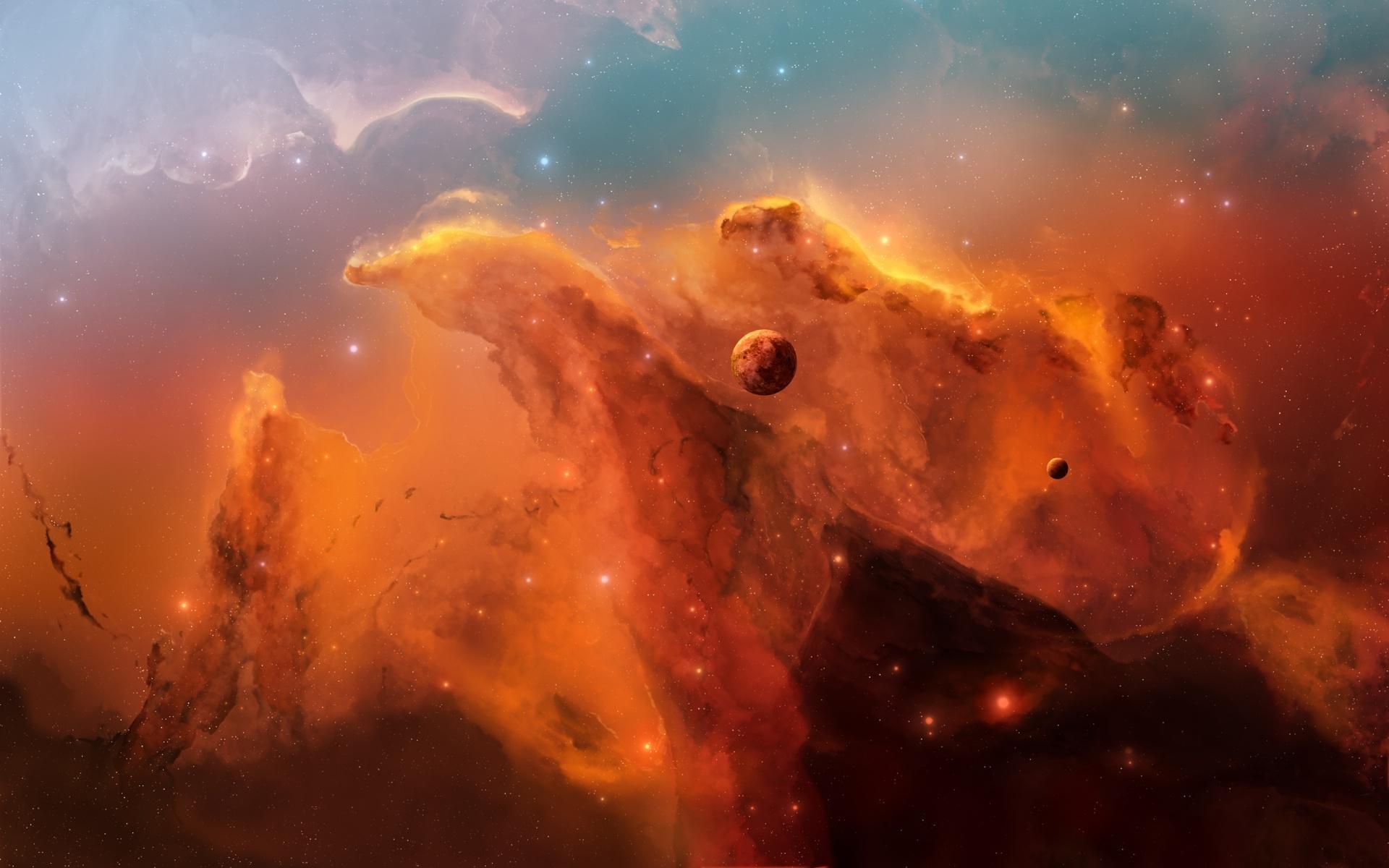浩瀚宇宙星空唯美高清图片桌面壁纸