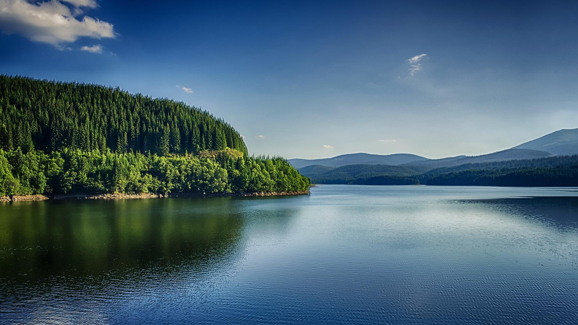自然山水形成风景图片