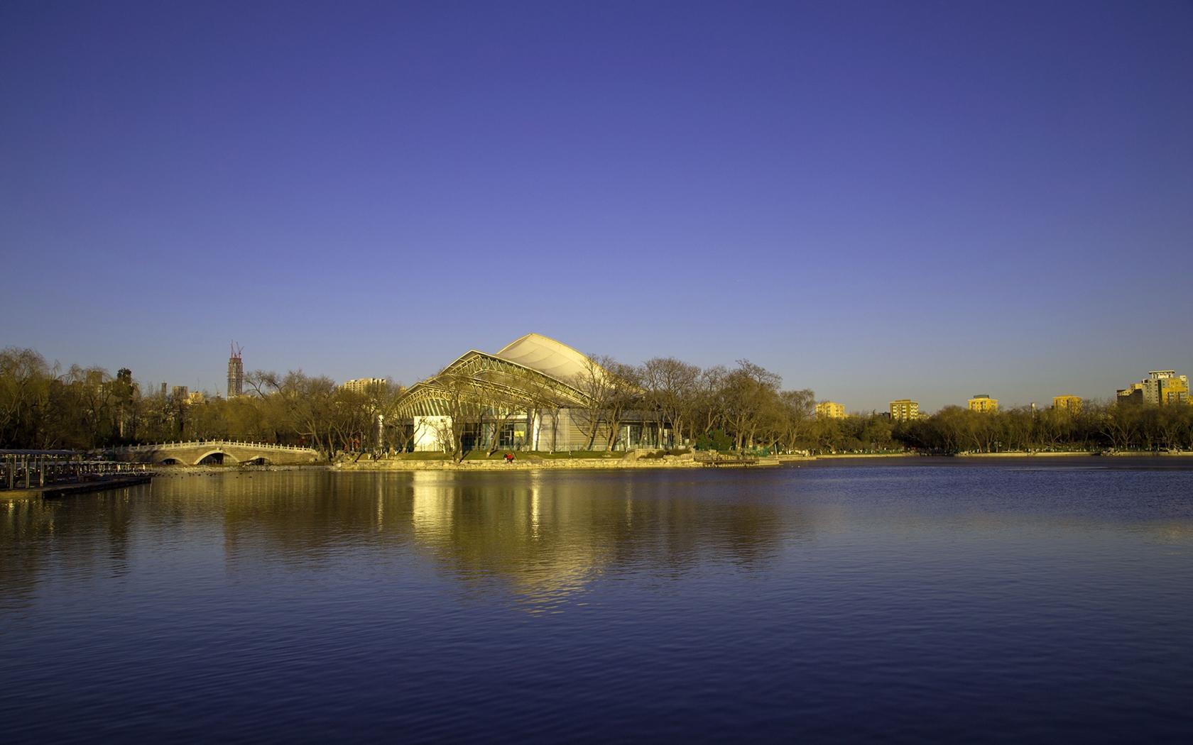 北京龙潭湖公园风景摄影高清壁纸