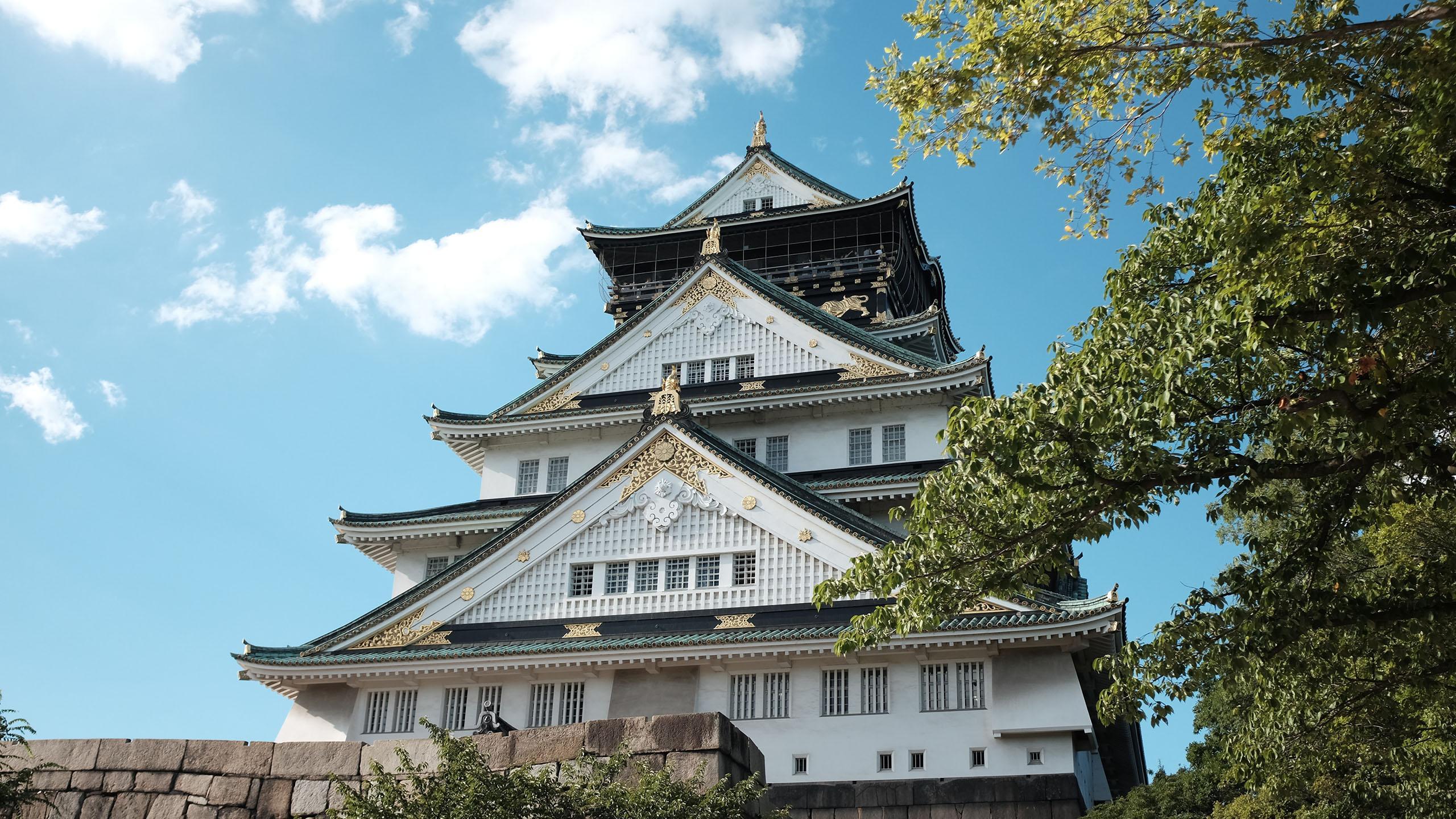 日本古典建筑摄影图片高清宽屏壁纸