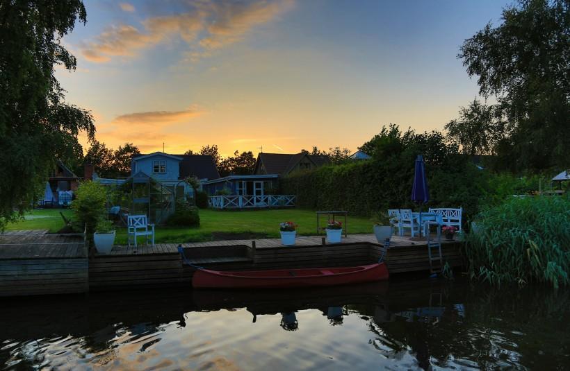 丹麦奥尔堡风景图片