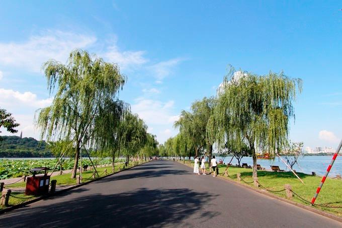 杭州孤山之旅美景图片