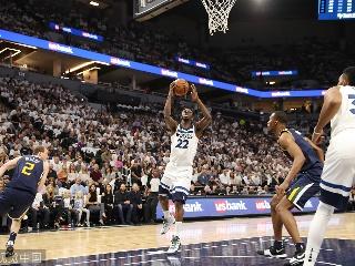 NBA常规赛:爵士-森林狼