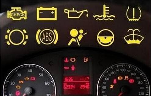 仪表盘指示灯图解图片_图片_猫扑汽车