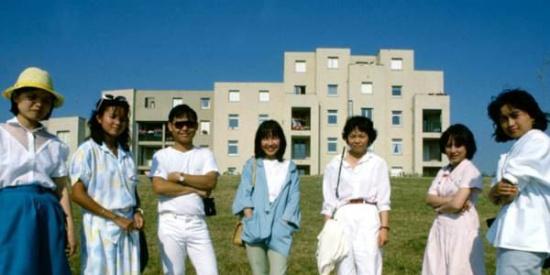 1986年法国最大唐人街旧照