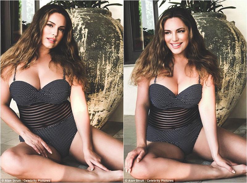 性感女神Kelly Brook近日和男友一起到泰国普吉岛度假,享受异国风光之余顺便为自己代言的泳装品牌拍摄全新广告大片。