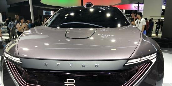 CES Asia 2018:拜腾旗下的首款轿车图赏