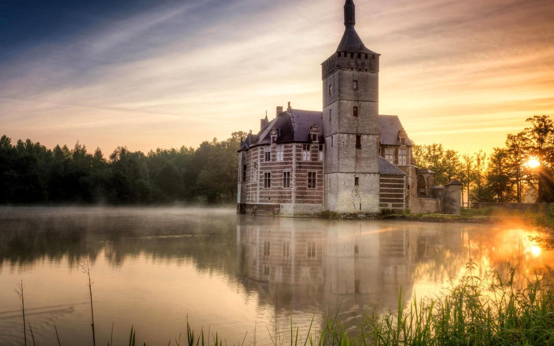 比利时布鲁塞尔风景图片电脑壁纸