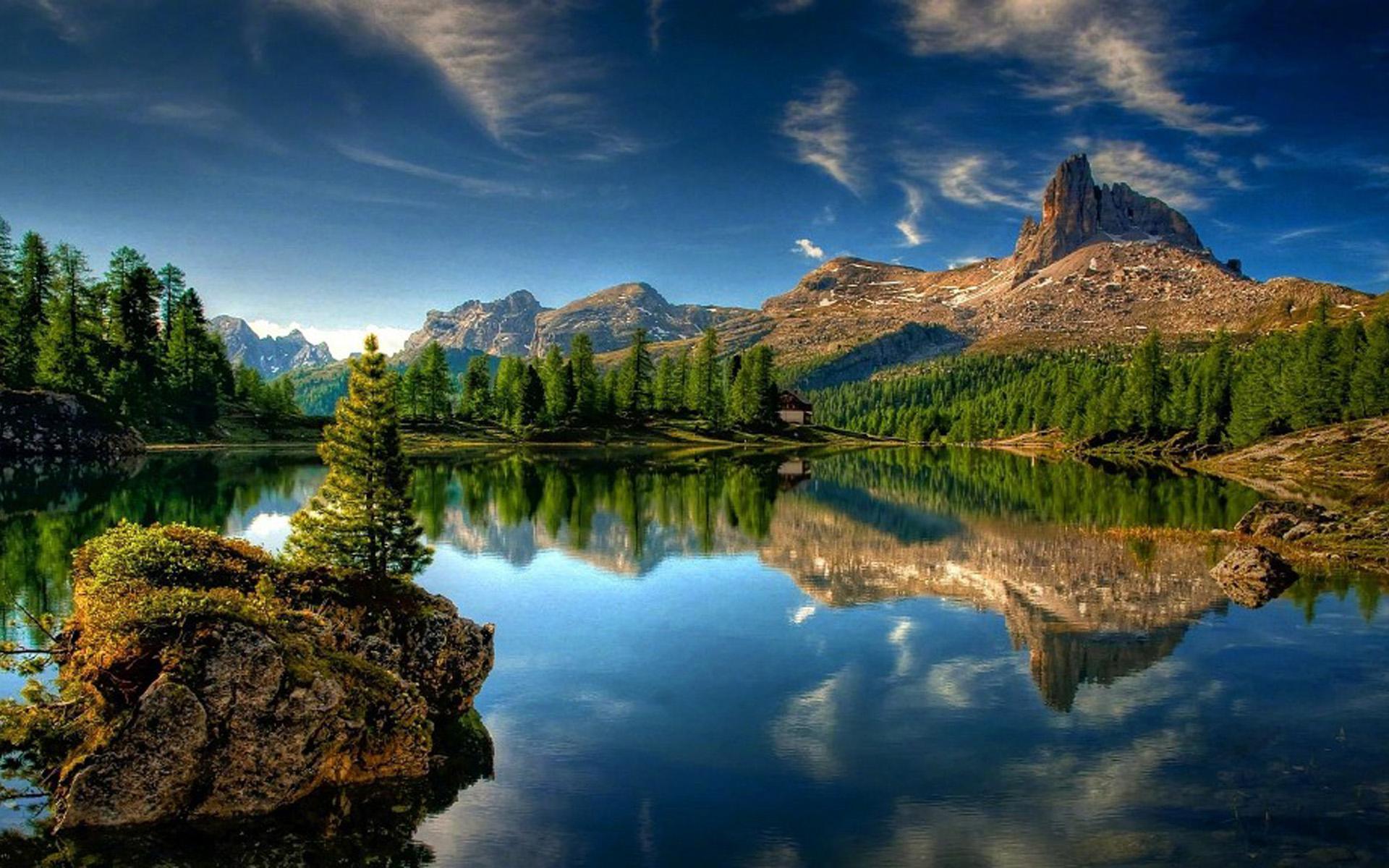 大自然山川风景图片桌面壁纸