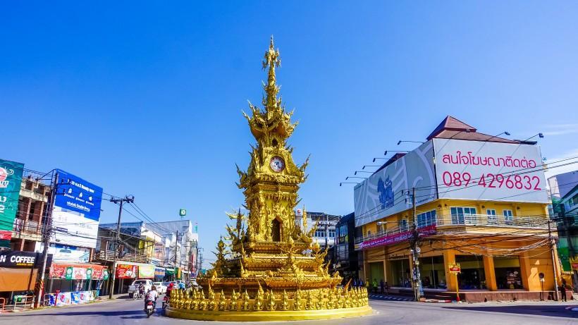 泰国建筑风景图片