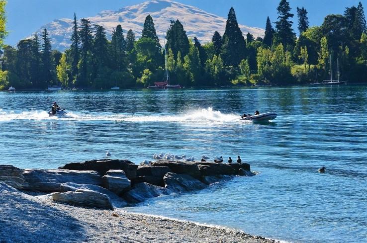 新西兰皇后镇绝美自然风光风景图片_图片新闻_东方头条