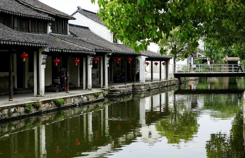 苏州黎里古镇风景图片