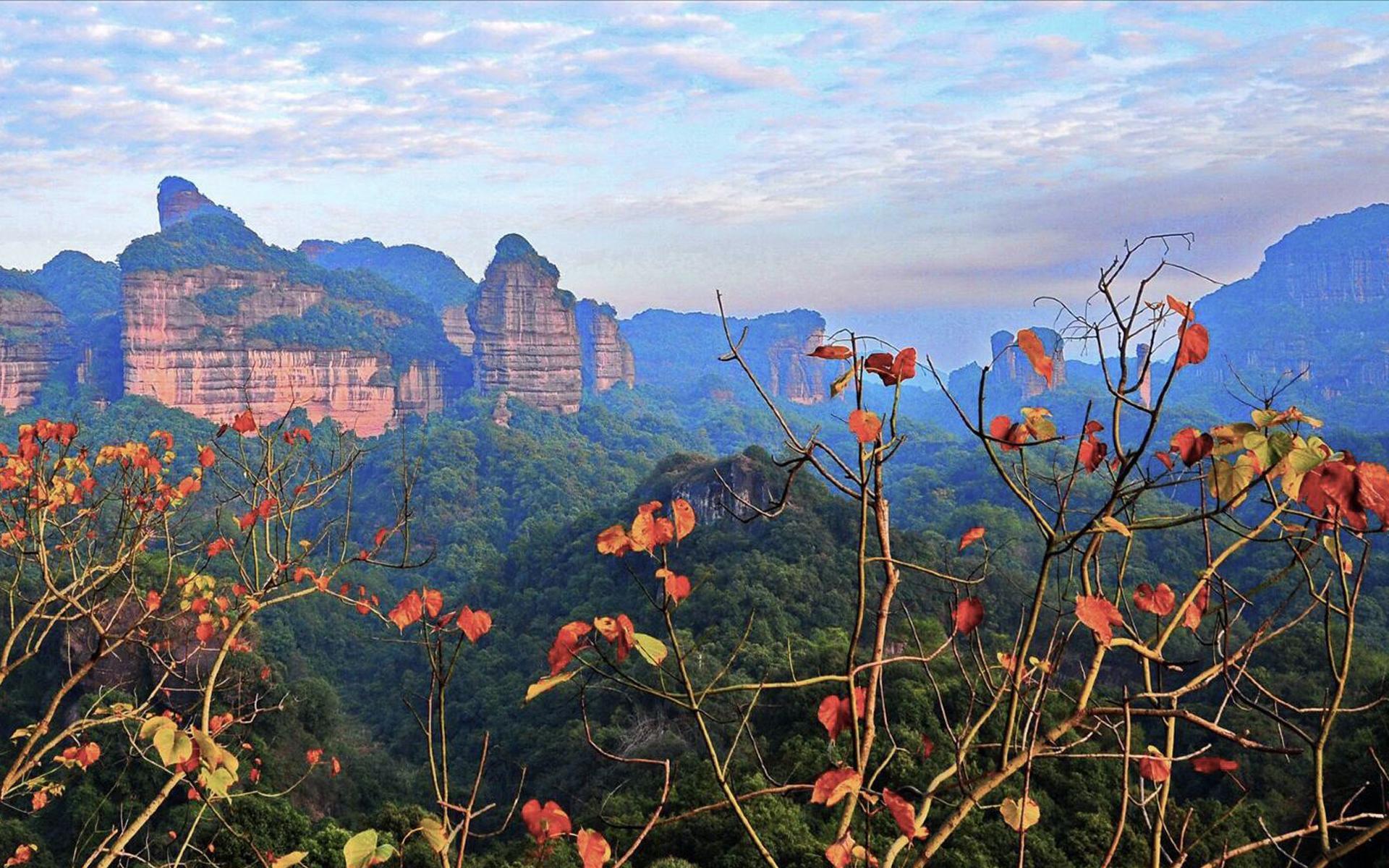 韶关丹霞山风景图片桌面壁纸
