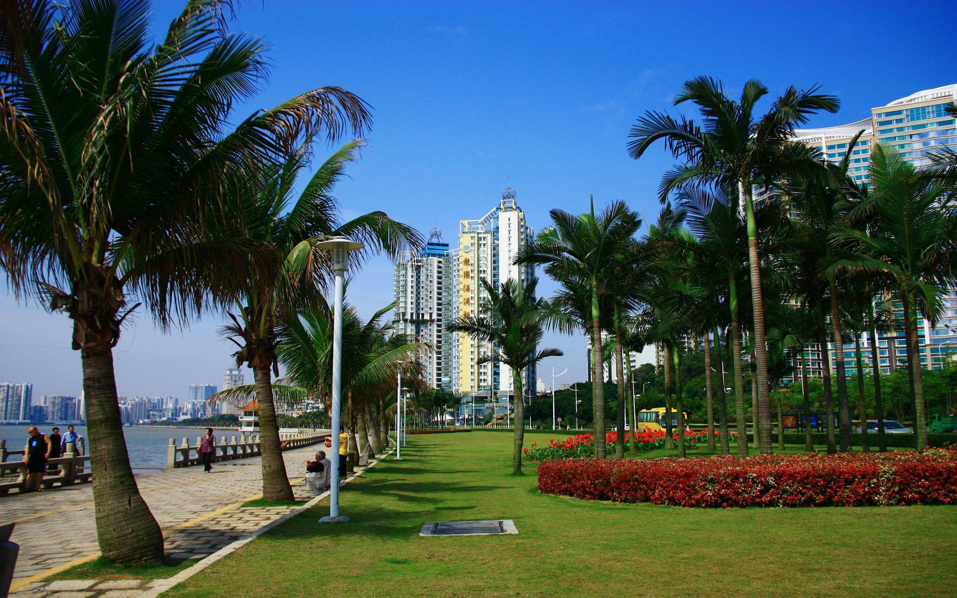 珠海城市风景图片桌面壁纸