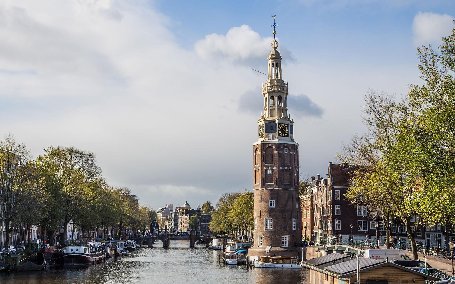 阿姆斯特丹风景图片桌面壁纸