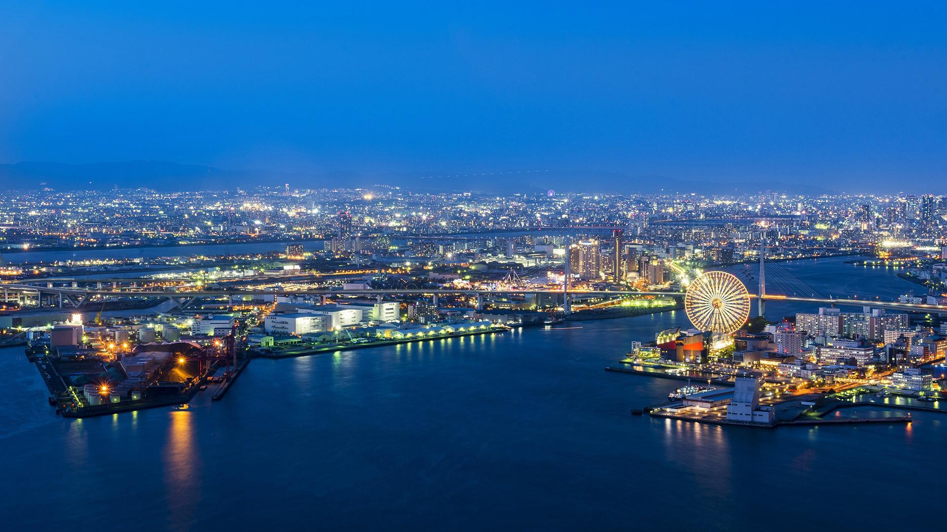 日本大阪_日本大阪风景图片桌面壁纸