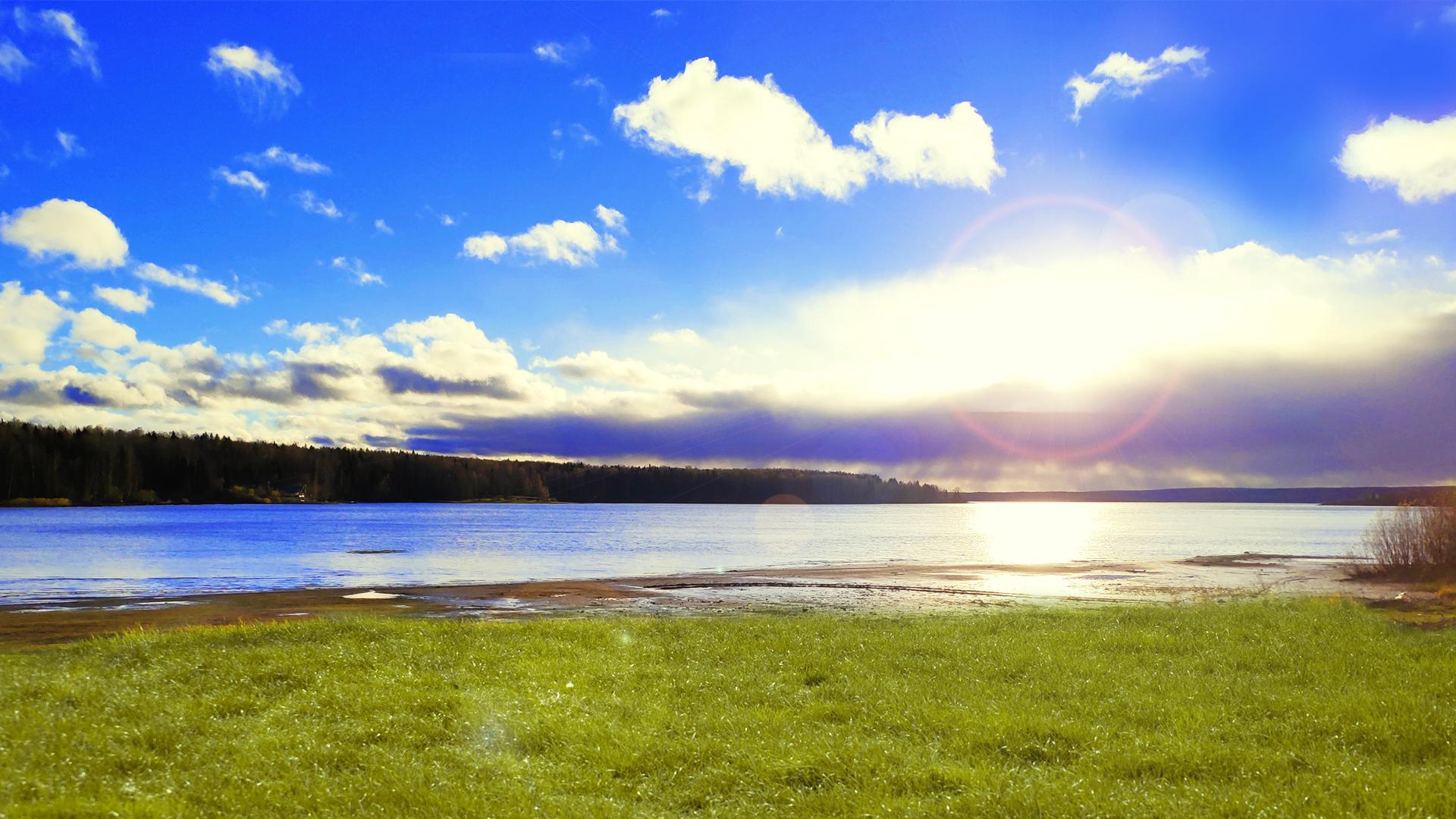 最新山水自然风景高清图片桌面壁纸