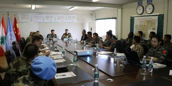 中国赴黎维和建筑工兵分队高标准完成工程任务