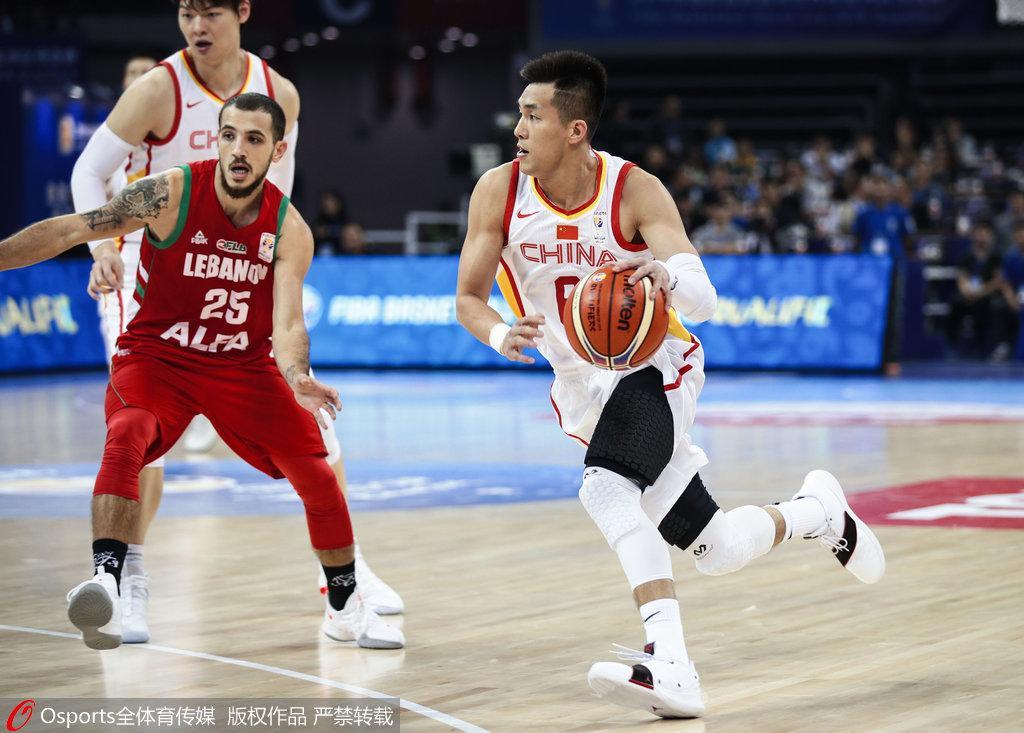 中国男篮vs黎巴嫩录像