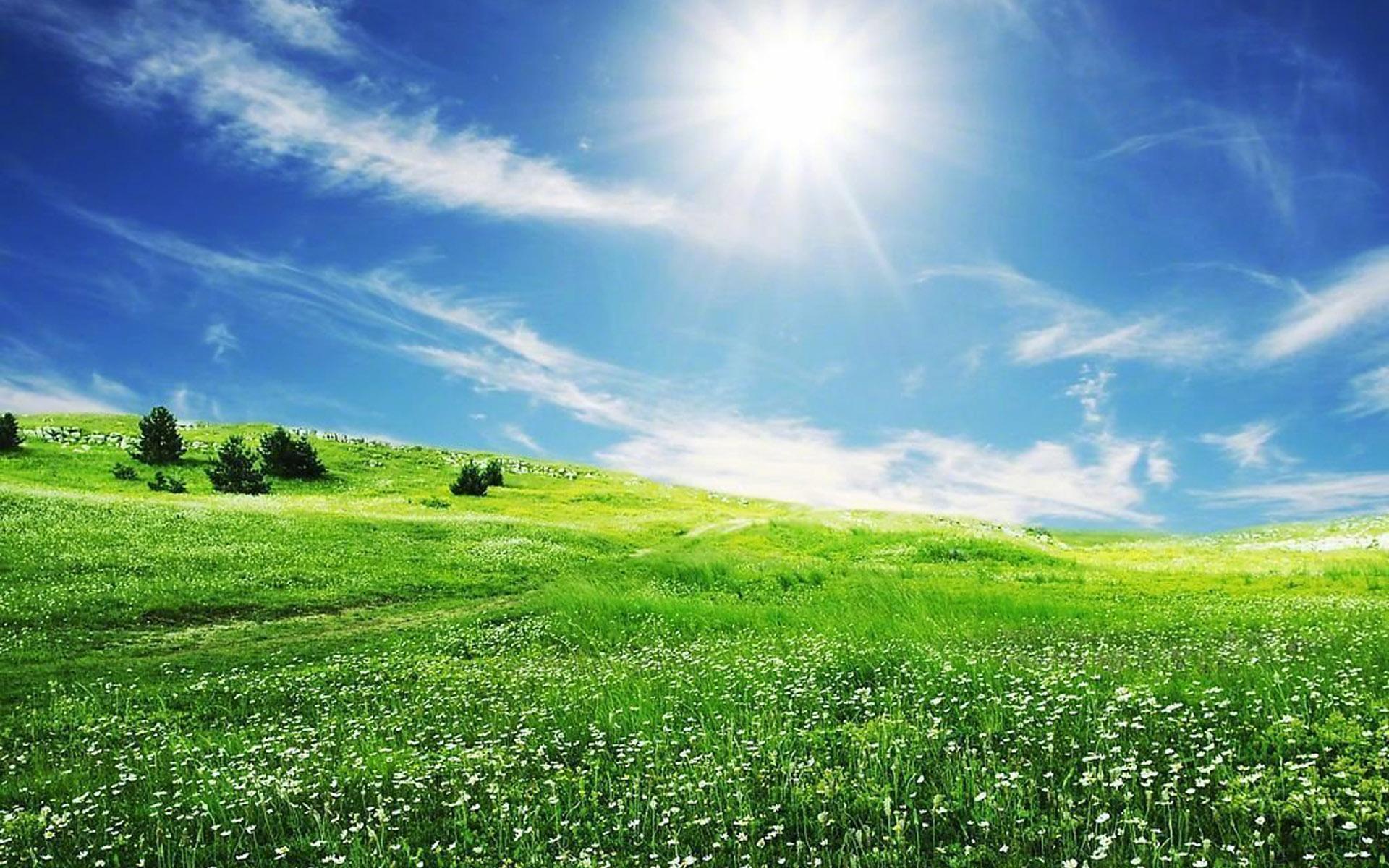 唯美蓝天白云风景图片电脑壁纸_图片新闻_东方头条
