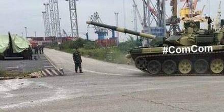 来跟15式轻坦对干?俄罗斯向越南交付首批T-90坦克
