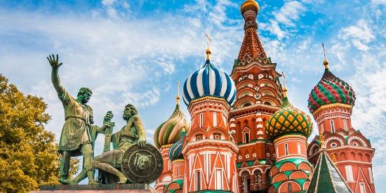 莫斯科城市建筑风光图片桌面壁纸
