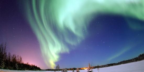 绚丽唯美的极光自然奇观图片壁纸