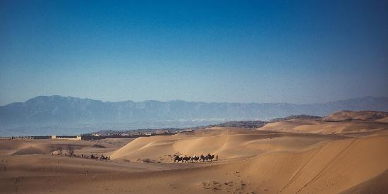 沙坡头风景图片高清桌面壁纸