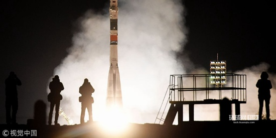 """俄""""联盟MS-12""""号飞船发射 载3名宇航员前往国际空间站"""