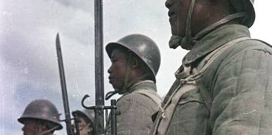 1949年的解放军战士的精气神
