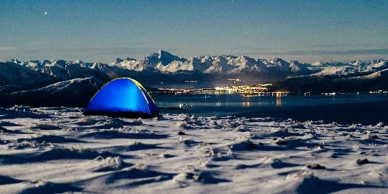 雪山风景图片高清桌面壁纸