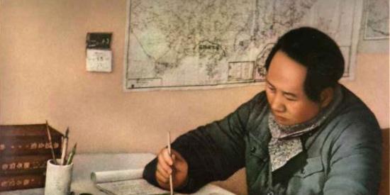 毛泽东延安时期彩色老照片,张张很经典