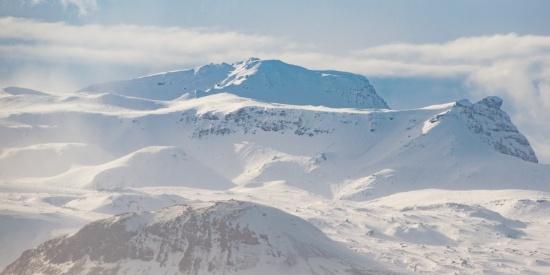 雪山景色图片