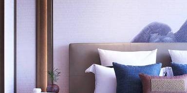 传统与现代相融的新中式卧室,让你每天住在诗里面