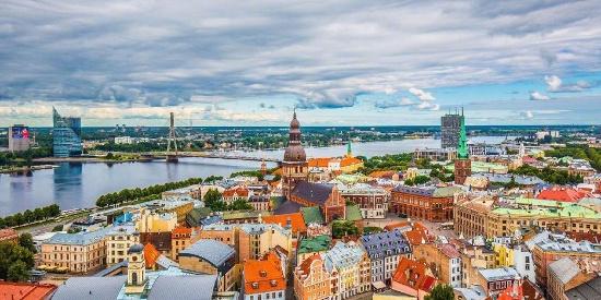 国外城市建筑风光图片桌面壁纸