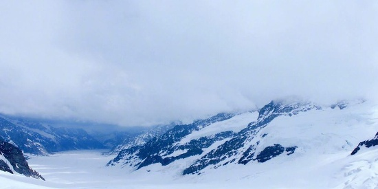 唯美雪山自然风光图片桌面壁纸