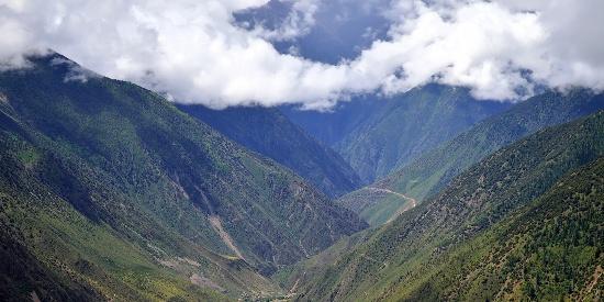 西藏高原自然风光图片桌面壁纸