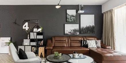 90㎡老房改造,巧用老家具,打造一个时髦的家!