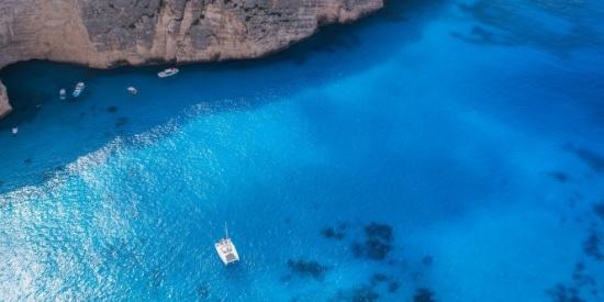 迷人的海岸风景图片